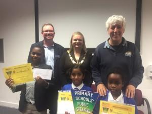 Public Speaking Winners Nov 2015